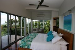 Master Bedroom with King Bed - Mission Beach Luxury Accommodation