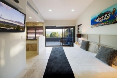 Master Bedroom with luxurious Ensuite and balcony