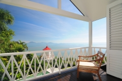 Master Bedroom with spectacular Ocean Views - 7 Wharf Street Port Douglas Luxury Holiday Home