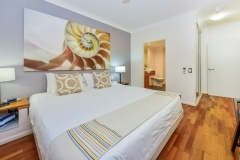 Master King Bedroom - Alamanda Palm Cove Private Beachfront Apartment