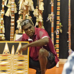 Meet Local Artists | Elcho Island | 11 Night Northern Territory Cruise Ship