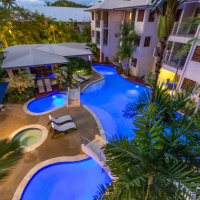 Meridian Port Douglas - Heated Swimming Pool in Winter