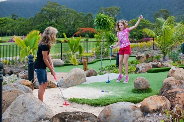 Mini Golf for the Kids