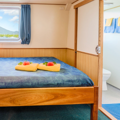 Minke Whale Expeditions From Cairns | Premium Cabin With Ensuite Bathroom