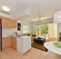 Modern accommodation at Port Douglas Adult Only Apartments