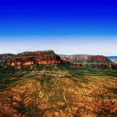 Mount Mulligan outback Queensland - Helicopter flights from Cairns