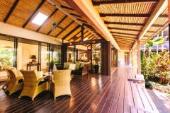 Multiple Outdoor Living Areas - Luxury Port Douglas Holiday Home