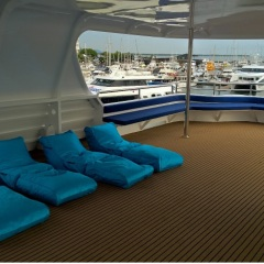 MV-EVO Newest And Most Luxurious Catamaran In Cairns | Comfortable Top Deck