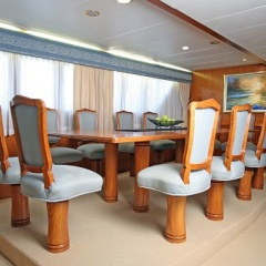 Cairns Luxury Private Charter Boat | Dining Area