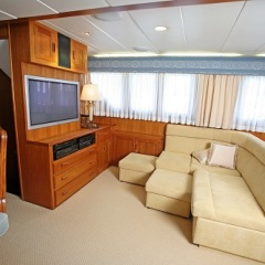 Cairns Luxury Private Motor Yacht | TV Area