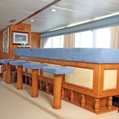 Great Barrier Reef Private Charter Motor Yacht | Bar