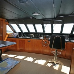Cairns Luxury Private Charter Yacht | Bridge