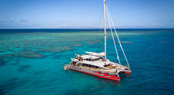 New Vessel At Home on the Great Barrier Reef - Cairns Dive Tours