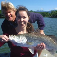 Nice catch of fish in the Cairns estuary