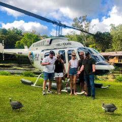 North Queensland Helicopter Tours and scenic flights from Cairns