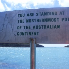Northenmost Point of Australia  Cairns to Cape York 4WD Tour