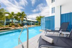 Slip into the pool directly from your Swim Out Patio - Silkari Lagoons Port Douglas
