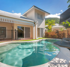 Oasis Villas feature their own private Swimming Pool - Great for family holidays in Palm Cove