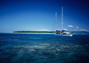 Great Barrier Reef sailing tours Green Island