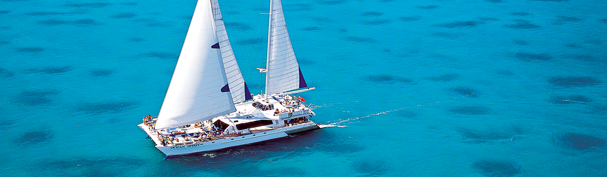 Cairns Great Barrier Cruises Reef & Island Sailing day tour