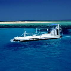 Semi Submersible Tour On Full Day Trip To Michaelmas Cay On The Great Barrier Reef