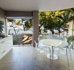 Ocean View Balcony - On The Beach Luxury Holiday Apartment Palm Cove
