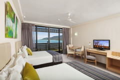 Ocean View Room - Enjoy stunning Ocean Views from your private balcony at Rydges Esplanade Cairns