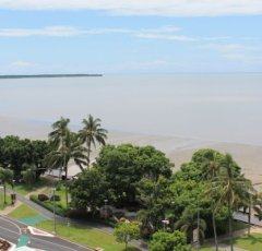 Ocean Views from your private balcony over Cairns Esplanade