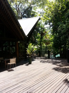 Off The Grid Restaurant At Ferntree Rainforest Resort