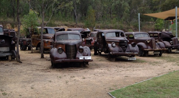 Old Vintage Cars | Private Tablelands Tours