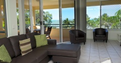 On the Beach-2 and 3  bedroom beachfront