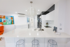 Palm Cove Apartments - Modern Kitchen Facilities - On The Beach Luxury Holiday Apartment Palm Cove