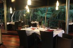On the Turps Restaurant overlooking Cooper Creek - Heritage Lodge Rainforest Restaurant