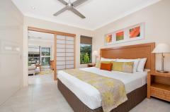 One Bedroom Apartment - King Bedroom at Adult only Resort Port Douglas