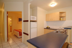 One Bedroom Kitchen - Trinity Beach Club Holiday Apartments