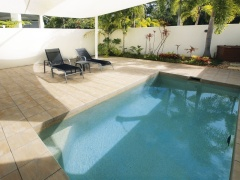 One Bedroom Plunge Pool with courtyard at Oaks Lagoons Port Douglas