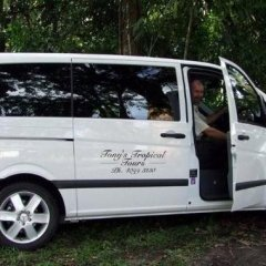 One Of TTROPTOURS Vehicle | Mercedes 7 Seater | 1 Day Tour From Port Douglas | North Queensland Australia
