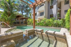 One of Two Swimming Pools (heated in winter)  | Bay Villas Resort Port Douglas