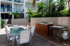 Onsite BBQ Facilities -  Cairns Luxury Apartments
