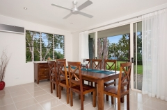Open plan dining area - Argentea Holiday House Palm Cove
