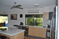 Open plan kitchen - Palm Cove Holiday House