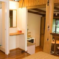 Open plan Pole Cabins - Milkwood Lodge Cooktown Accommodation