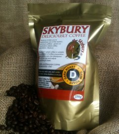Order freshly ground coffee on line from Skybury