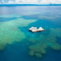Outer Barrier Reef Pontoons Cairns