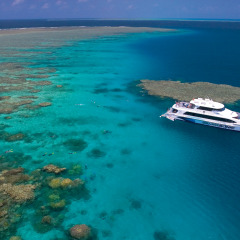 Outer Great Barrier Reef boat tours from Port Douglas Queensland Australia
