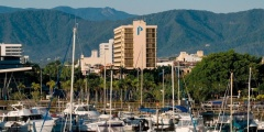 Pacific Hotel Cairns located on the Esplanade in the heart of Cairns