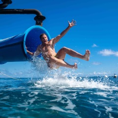 Packed More Fun On The Great Barrier Reef | The Only Great Barrier Reef Waterslide In Tropical North Queensland