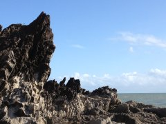 Palm Cove Beach - Rock Formations