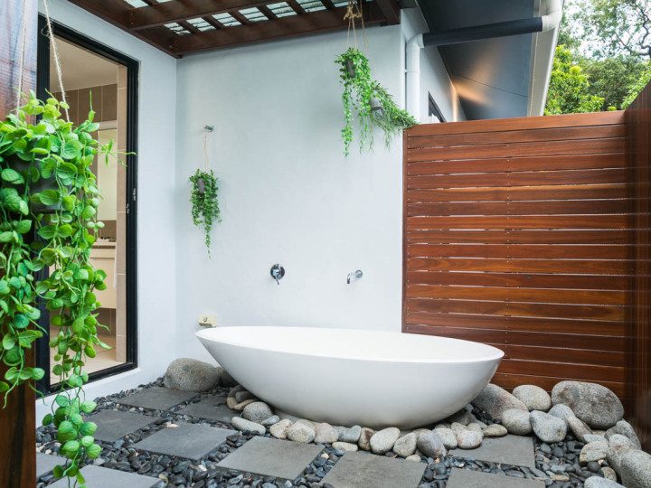 True Tropical style living | Palm Cove Holiday Home