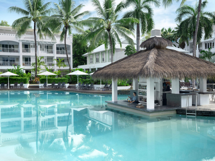 Palm Cove Resort Holiday at Peppers Beach Club & Spa with Swim Up Pool Bar